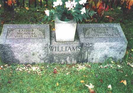 YEAGER WILLIAMS, TOMORA - Northumberland County, Pennsylvania | TOMORA YEAGER WILLIAMS - Pennsylvania Gravestone Photos