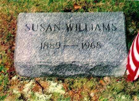WILLIAMS, SUSAN - Northumberland County, Pennsylvania   SUSAN WILLIAMS - Pennsylvania Gravestone Photos
