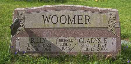 WOOMER, BILLY - Northumberland County, Pennsylvania   BILLY WOOMER - Pennsylvania Gravestone Photos