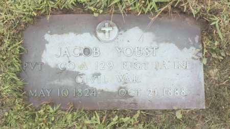 YOUST (CW), JACOB - Northumberland County, Pennsylvania | JACOB YOUST (CW) - Pennsylvania Gravestone Photos
