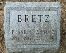 CLOUSER BRETZ, ANNIE - Perry County, Pennsylvania | ANNIE CLOUSER BRETZ - Pennsylvania Gravestone Photos