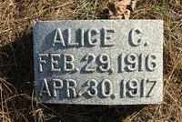 CLOUSER, ALICE CATHARINE - Perry County, Pennsylvania | ALICE CATHARINE CLOUSER - Pennsylvania Gravestone Photos