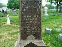 CLOUSER, ANDREW - Perry County, Pennsylvania | ANDREW CLOUSER - Pennsylvania Gravestone Photos