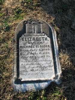 CLOUSER, ELIZABETH CATHERINE - Perry County, Pennsylvania | ELIZABETH CATHERINE CLOUSER - Pennsylvania Gravestone Photos