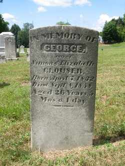 CLOUSER, GEORGE - Perry County, Pennsylvania | GEORGE CLOUSER - Pennsylvania Gravestone Photos