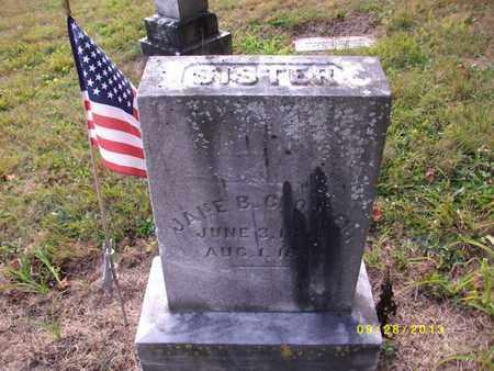 CLOUSER, JANE B - Perry County, Pennsylvania   JANE B CLOUSER - Pennsylvania Gravestone Photos