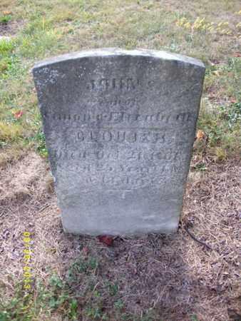CLOUSER, JOHN - Perry County, Pennsylvania | JOHN CLOUSER - Pennsylvania Gravestone Photos