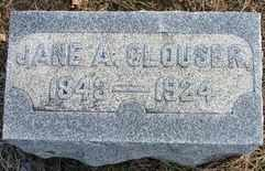 CLOUSER, JANE ANN - Perry County, Pennsylvania   JANE ANN CLOUSER - Pennsylvania Gravestone Photos