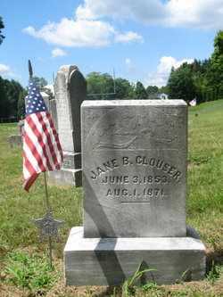 CLOUSER, JANE B. - Perry County, Pennsylvania | JANE B. CLOUSER - Pennsylvania Gravestone Photos