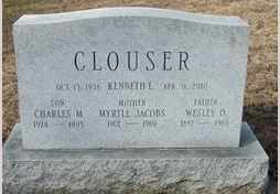CLOUSER, KENNETH L. - Perry County, Pennsylvania | KENNETH L. CLOUSER - Pennsylvania Gravestone Photos