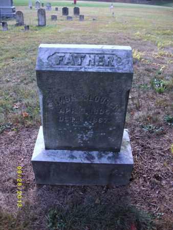 CLOUSER, SIMON - Perry County, Pennsylvania | SIMON CLOUSER - Pennsylvania Gravestone Photos