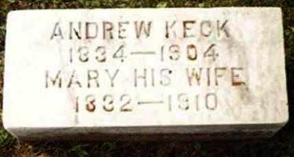 KECK, MARY - Perry County, Pennsylvania | MARY KECK - Pennsylvania Gravestone Photos