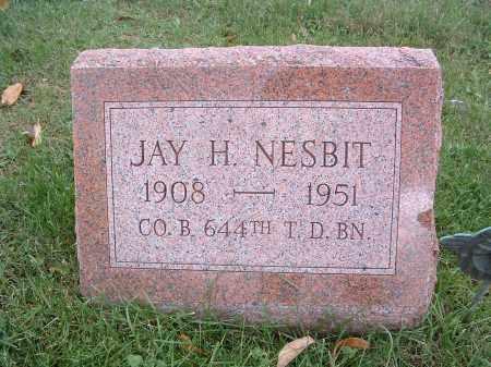 NESBIT, JAY H. - Perry County, Pennsylvania | JAY H. NESBIT - Pennsylvania Gravestone Photos