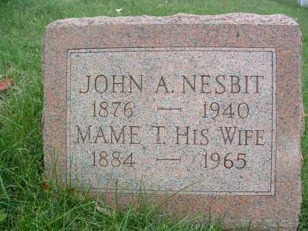 NESBIT, JOHN A. - Perry County, Pennsylvania | JOHN A. NESBIT - Pennsylvania Gravestone Photos
