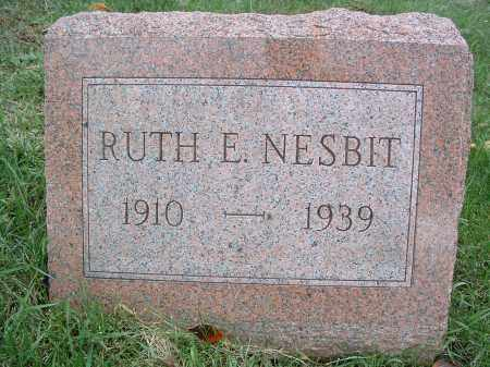 NESBIT, RUTH E. - Perry County, Pennsylvania | RUTH E. NESBIT - Pennsylvania Gravestone Photos