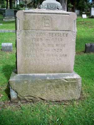 BENSLEY, CORA - Pike County, Pennsylvania | CORA BENSLEY - Pennsylvania Gravestone Photos
