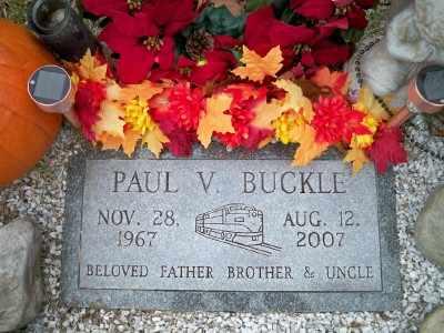BUCKLE, PAUL V. - Pike County, Pennsylvania | PAUL V. BUCKLE - Pennsylvania Gravestone Photos