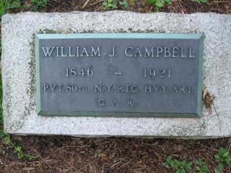 CAMPBELL (CW), WILLIAM J. - Pike County, Pennsylvania | WILLIAM J. CAMPBELL (CW) - Pennsylvania Gravestone Photos
