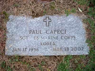 CAPECI, PAUL - Pike County, Pennsylvania | PAUL CAPECI - Pennsylvania Gravestone Photos