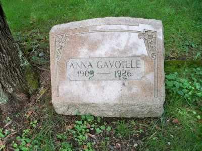 GAVOILLE, ANNA - Pike County, Pennsylvania   ANNA GAVOILLE - Pennsylvania Gravestone Photos