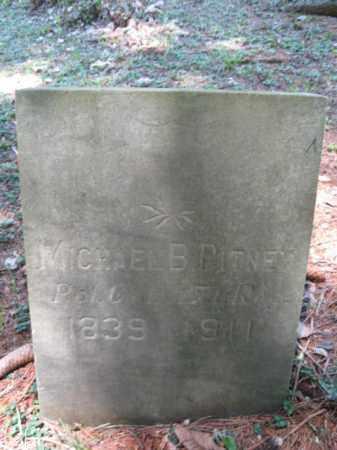 PITNEY (CW), MICHAEL B. - Pike County, Pennsylvania   MICHAEL B. PITNEY (CW) - Pennsylvania Gravestone Photos