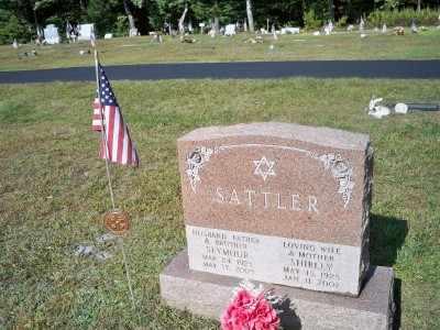 SATTLER, SEYMOUR - Pike County, Pennsylvania | SEYMOUR SATTLER - Pennsylvania Gravestone Photos