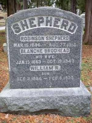SHEPHERD, BLANCHE - Pike County, Pennsylvania | BLANCHE SHEPHERD - Pennsylvania Gravestone Photos