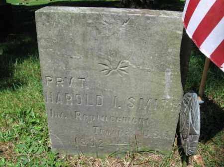 SMITH (WW I), HAROLD I. - Pike County, Pennsylvania | HAROLD I. SMITH (WW I) - Pennsylvania Gravestone Photos