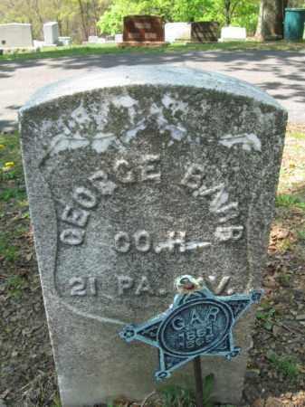BARR (CW), GEORGE W. - Schuylkill County, Pennsylvania   GEORGE W. BARR (CW) - Pennsylvania Gravestone Photos