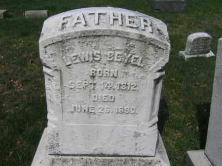BEYEL, LEWIS - Schuylkill County, Pennsylvania | LEWIS BEYEL - Pennsylvania Gravestone Photos