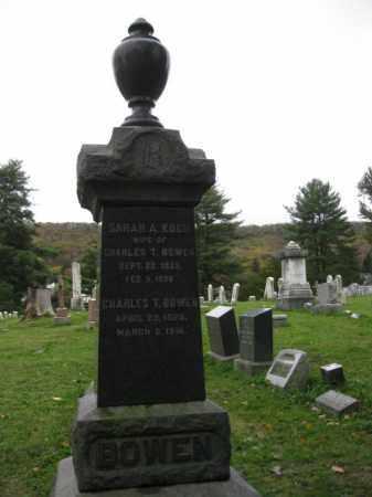BOWEN (CW), CHARLES T. - Schuylkill County, Pennsylvania | CHARLES T. BOWEN (CW) - Pennsylvania Gravestone Photos