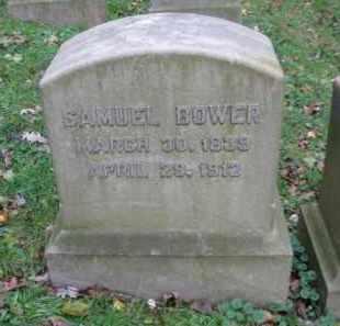 BOWER (CW), SAMUEL - Schuylkill County, Pennsylvania | SAMUEL BOWER (CW) - Pennsylvania Gravestone Photos