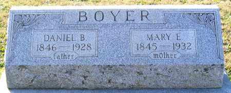 BOYER, DANIEL B. - Schuylkill County, Pennsylvania | DANIEL B. BOYER - Pennsylvania Gravestone Photos