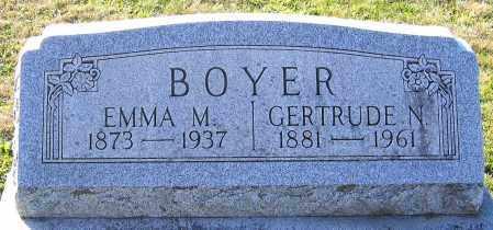 BOYER, GERTRUDE N. - Schuylkill County, Pennsylvania   GERTRUDE N. BOYER - Pennsylvania Gravestone Photos