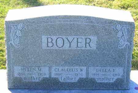 BOYER, DELLA E. - Schuylkill County, Pennsylvania | DELLA E. BOYER - Pennsylvania Gravestone Photos