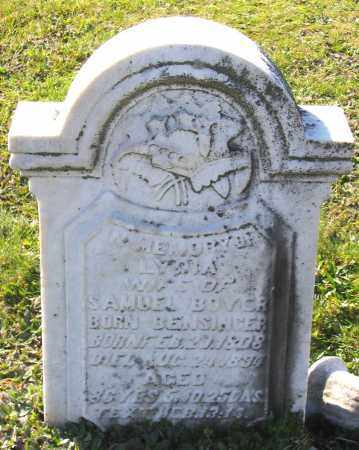 BOYER, LYDIA - Schuylkill County, Pennsylvania | LYDIA BOYER - Pennsylvania Gravestone Photos