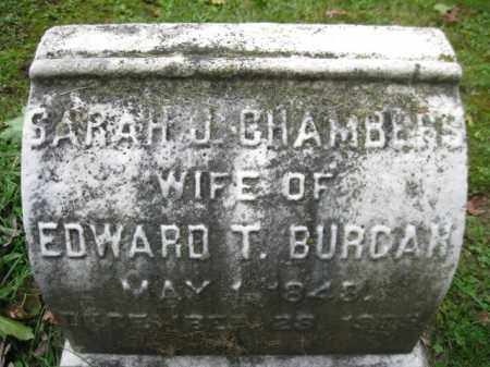 BURCAR, SARAH J, - Schuylkill County, Pennsylvania | SARAH J, BURCAR - Pennsylvania Gravestone Photos