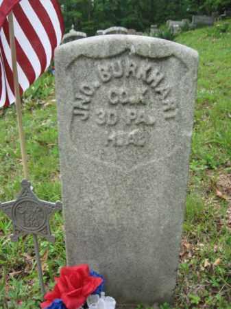 BURKHART (CW), JOHN - Schuylkill County, Pennsylvania | JOHN BURKHART (CW) - Pennsylvania Gravestone Photos