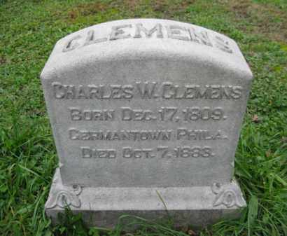 CLEMENS, CHARLES W. - Schuylkill County, Pennsylvania | CHARLES W. CLEMENS - Pennsylvania Gravestone Photos