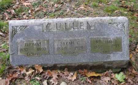 CULLEN (CW), THOMAS - Schuylkill County, Pennsylvania | THOMAS CULLEN (CW) - Pennsylvania Gravestone Photos
