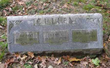 CULLEN (CW), THOMAS - Schuylkill County, Pennsylvania | THOMAS CULLEN (CW) - Pennsylvania Gravestone Photos