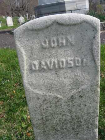 DAVIDSON, JOHN - Schuylkill County, Pennsylvania | JOHN DAVIDSON - Pennsylvania Gravestone Photos