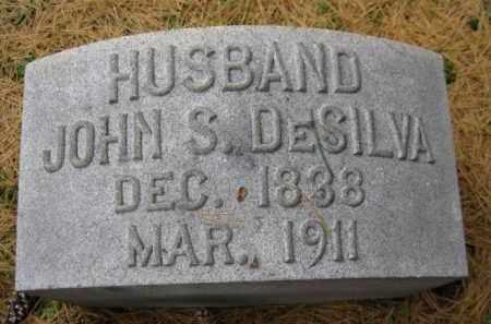 DESILVA, JOHN S. - Schuylkill County, Pennsylvania | JOHN S. DESILVA - Pennsylvania Gravestone Photos