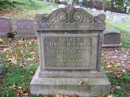 EVANS (CW), DAVID M. - Schuylkill County, Pennsylvania | DAVID M. EVANS (CW) - Pennsylvania Gravestone Photos