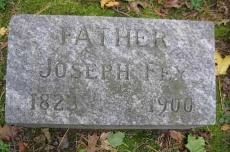 FEY, JOSEPH - Schuylkill County, Pennsylvania   JOSEPH FEY - Pennsylvania Gravestone Photos