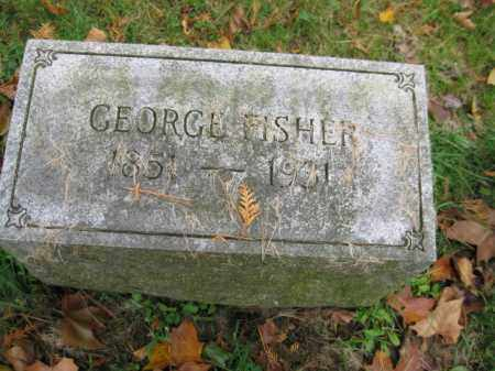 FISHER, GEORGE - Schuylkill County, Pennsylvania | GEORGE FISHER - Pennsylvania Gravestone Photos