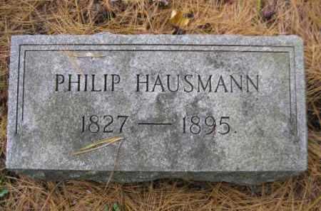 HAUSMAN, PHILIP - Schuylkill County, Pennsylvania | PHILIP HAUSMAN - Pennsylvania Gravestone Photos
