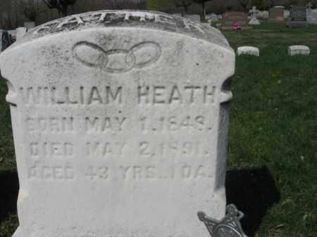 HEATH, WILLIAM - Schuylkill County, Pennsylvania | WILLIAM HEATH - Pennsylvania Gravestone Photos