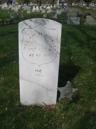 HINKLEY (CW), WILLIAM H. - Schuylkill County, Pennsylvania | WILLIAM H. HINKLEY (CW) - Pennsylvania Gravestone Photos