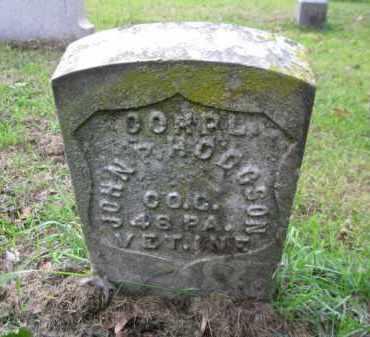 HODGSON (CW), JOHN P. - Schuylkill County, Pennsylvania | JOHN P. HODGSON (CW) - Pennsylvania Gravestone Photos